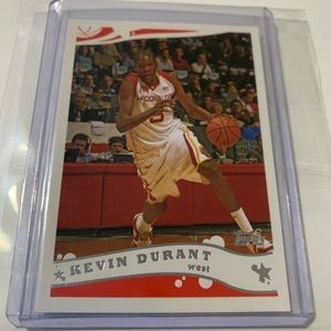 Kevin Durant 2006 Topps Mc Donald's All American